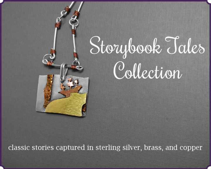 Storybook Tales Collection - jewelry for book lovers