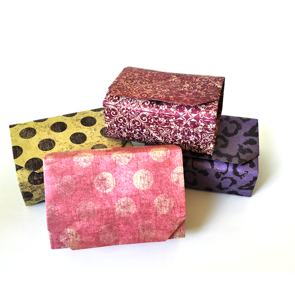 rectangular origami boxes