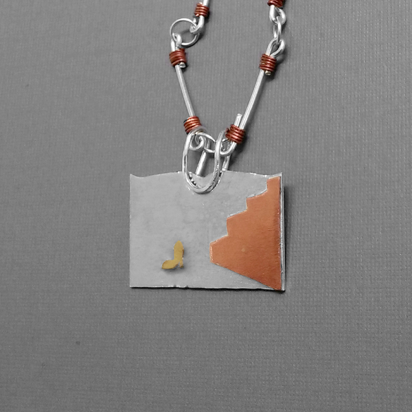 Cinderella's slipper necklace