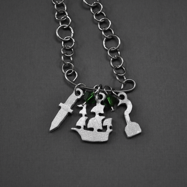 Peter Pan Charm Necklace