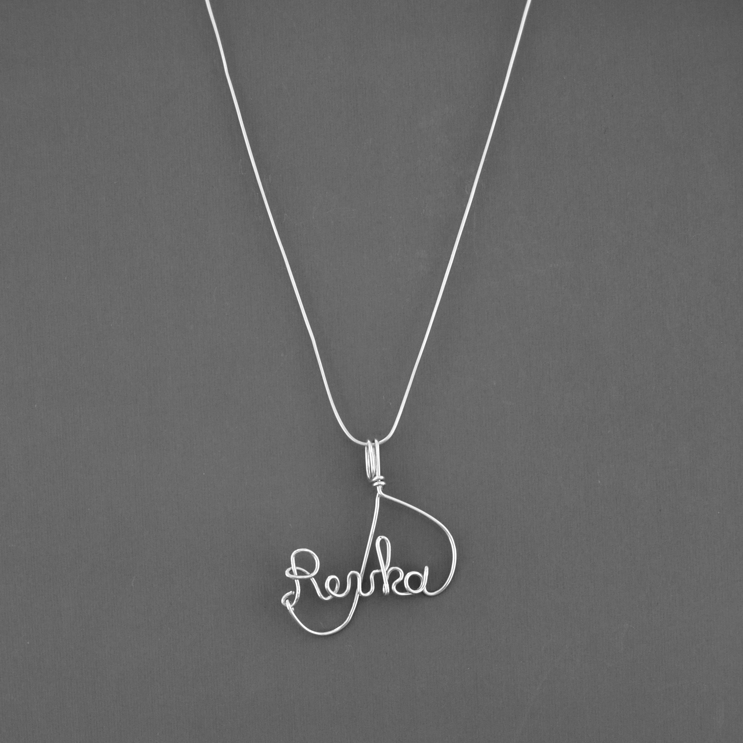 samuel s olivia name sterling silver necklace jewellery d h number webstore children product