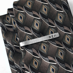 personalized tie bar - tie not included