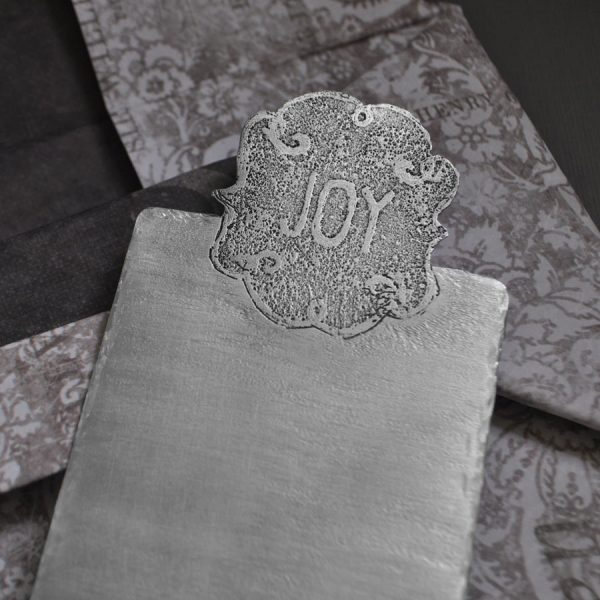 monogram bookmark detail