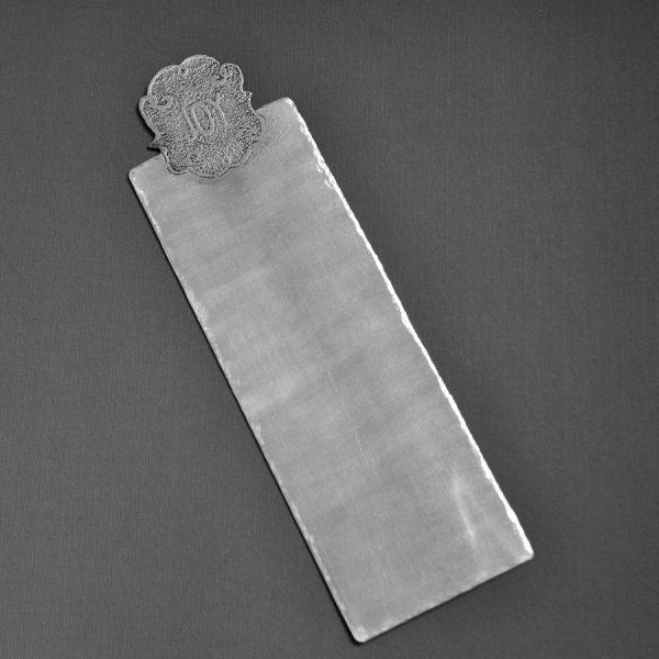 monogram bookmark