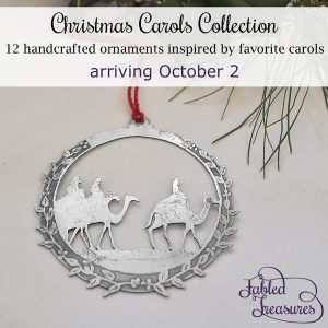 Christmas Carols Collection launch announcement