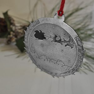 Up on the Housetop Christmas ornament