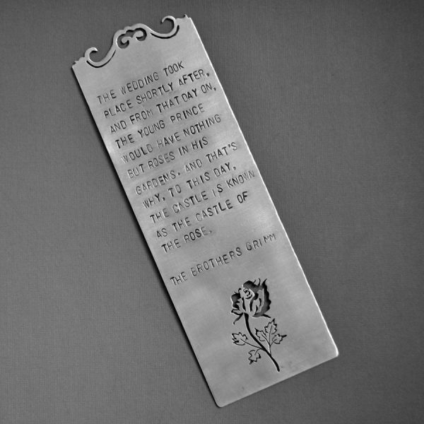 Beauty and the Beast bookmark