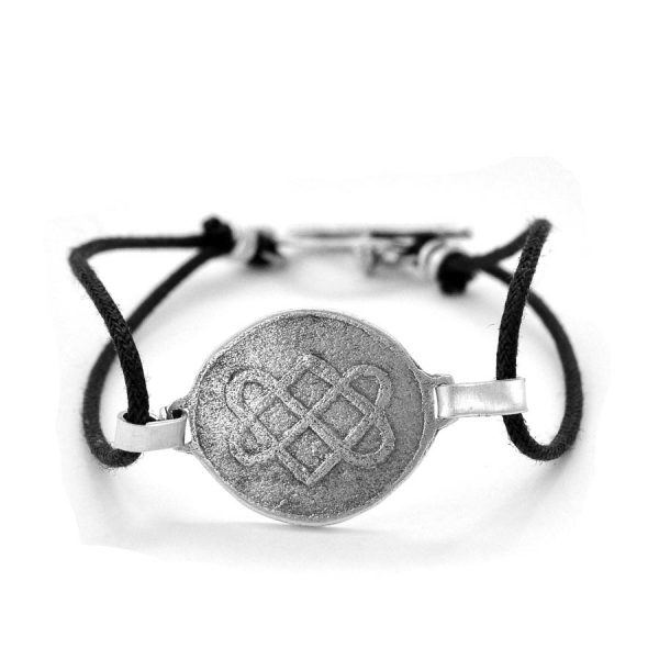 Celtic lovers knot bracelet